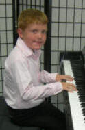 Piano boy, DeLand Florida